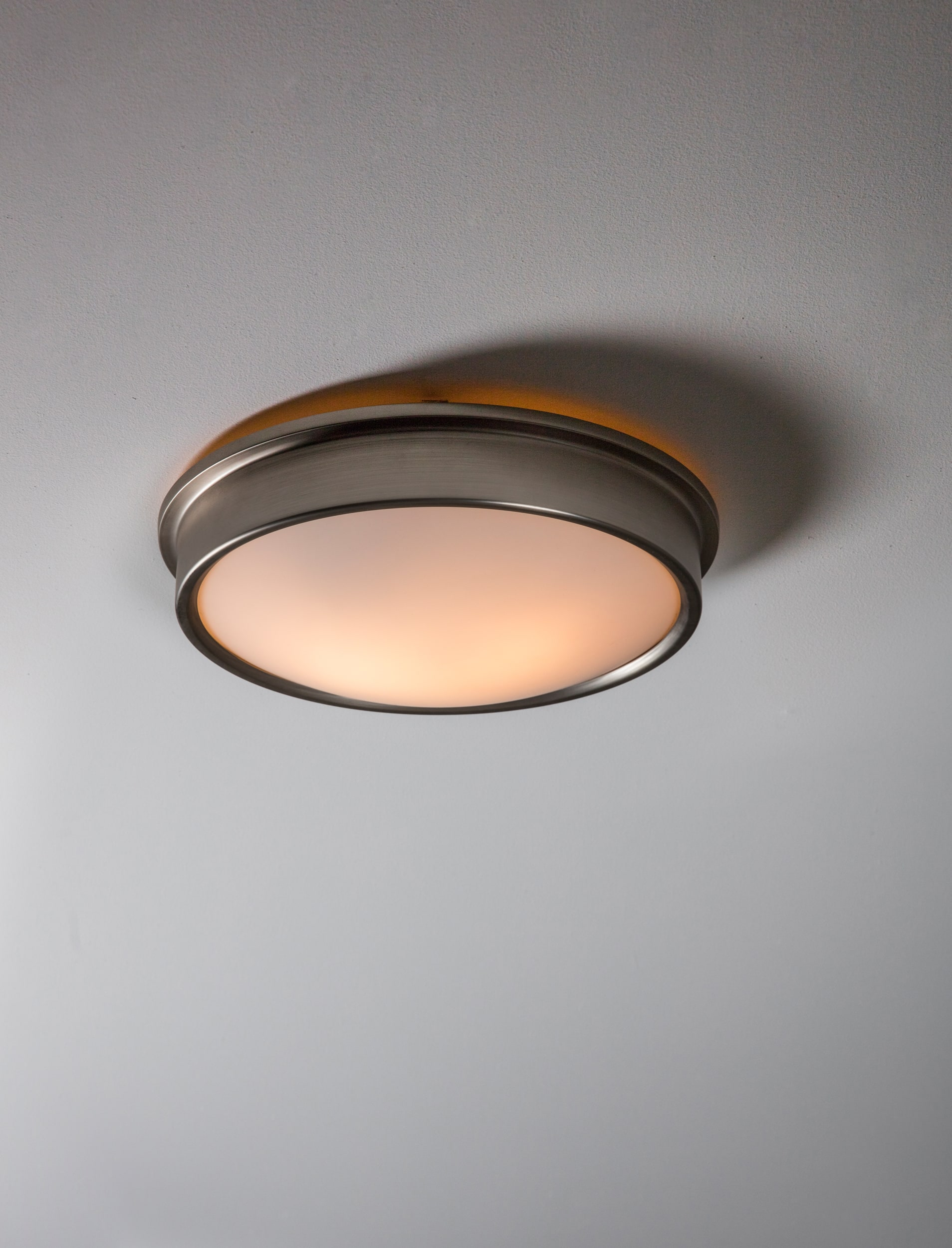 Ladbroke Bathroom Ceiling Light in Silver or Bronze  | Garden Trading