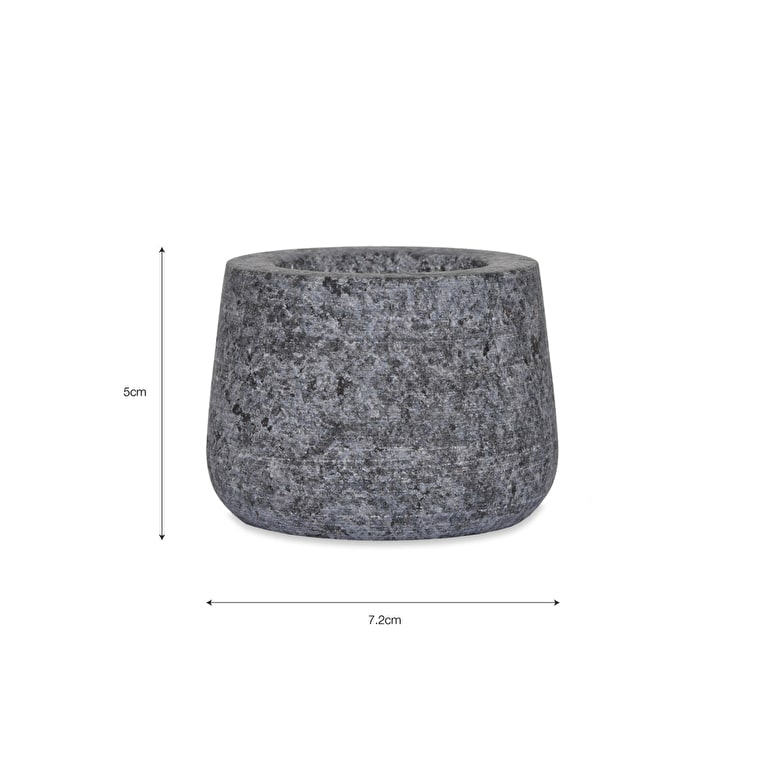 Granite Tealight Holder in Round, Straight or Curved | Garden Trading