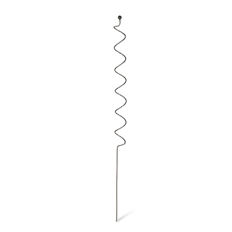 Raw Metal Barrington Spiral Plant Support | Garden Trading