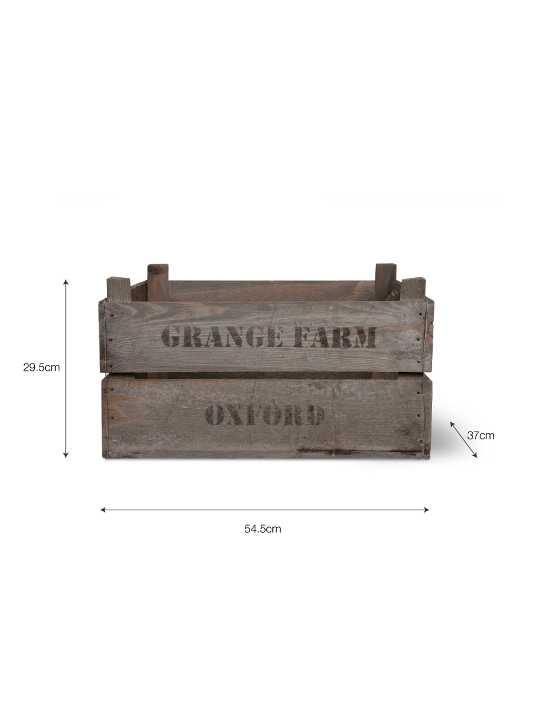 Wooden Set of 3 Wooden Fruit Boxes | Garden Trading