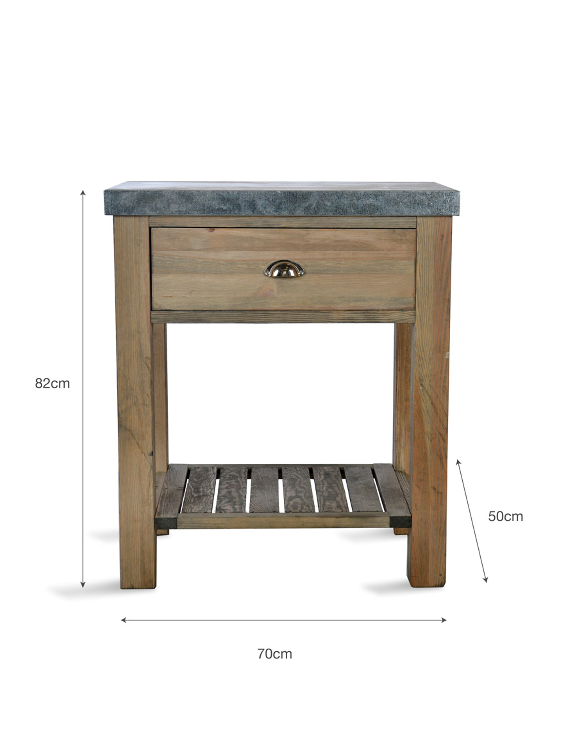 Wooden Aldsworth Butchers Block | Garden Trading