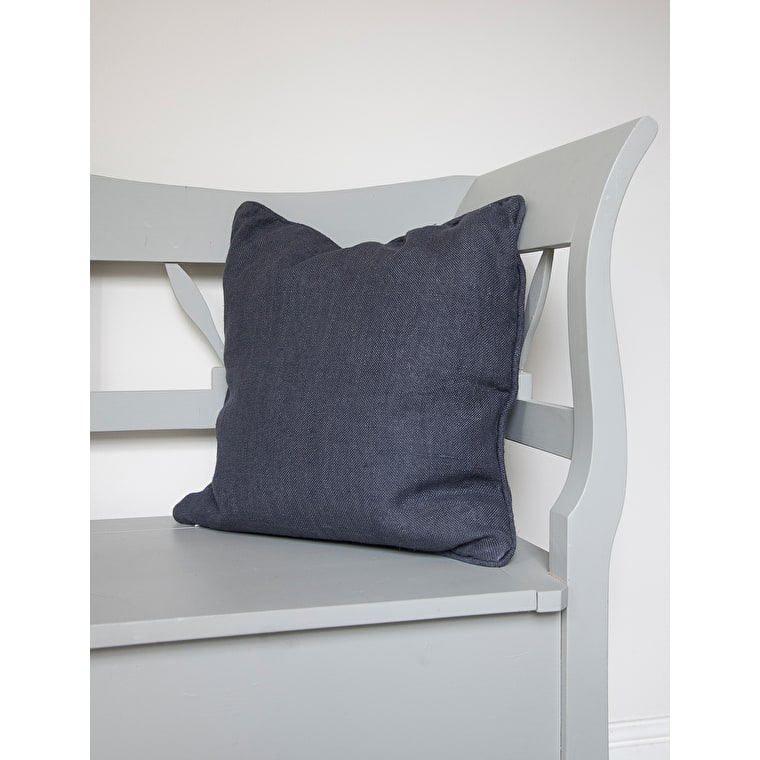 Linen Compton Cushion in Grey   | Garden Trading