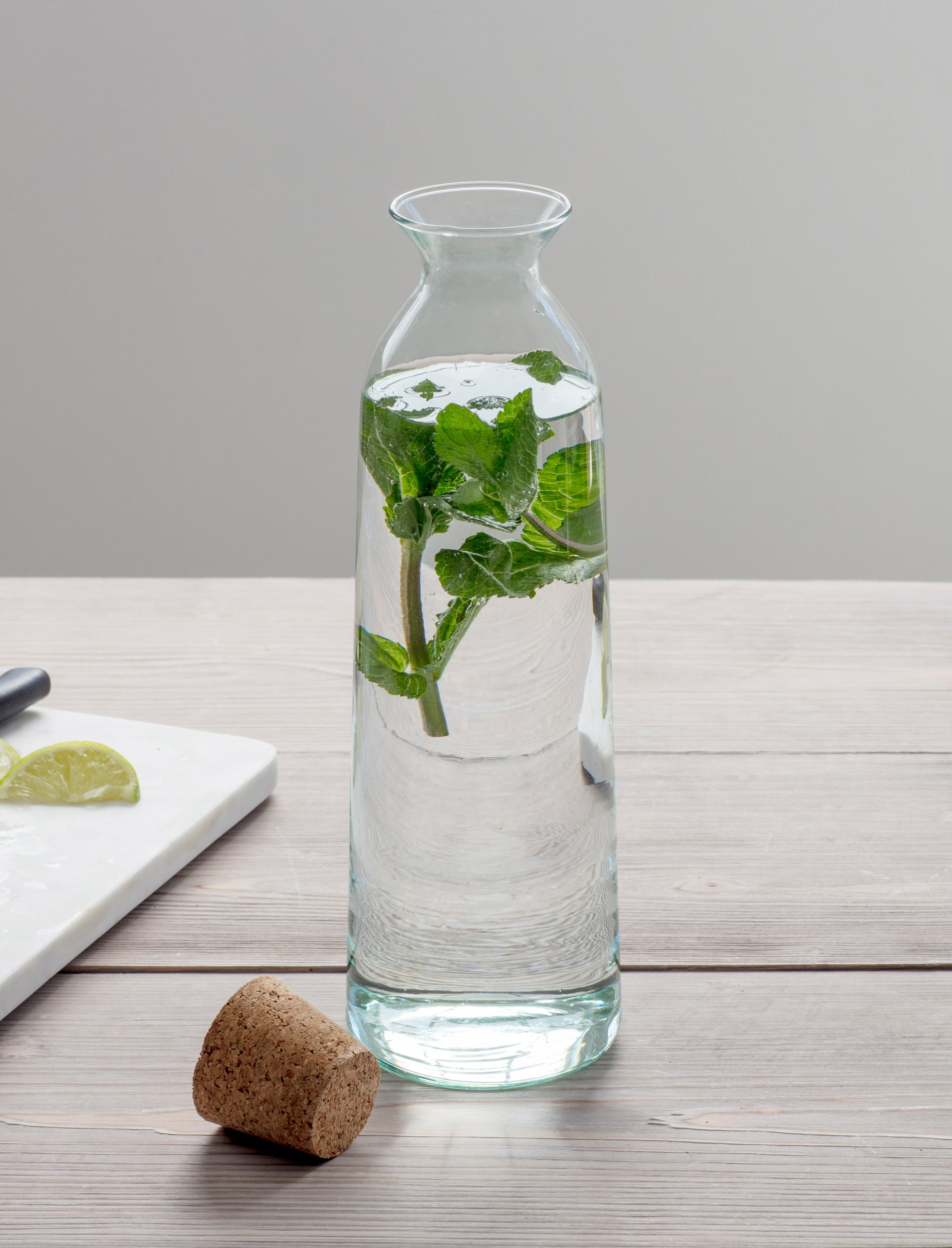 Recycled Glass Broadwell Bottle in Small or Large  | Garden Trading