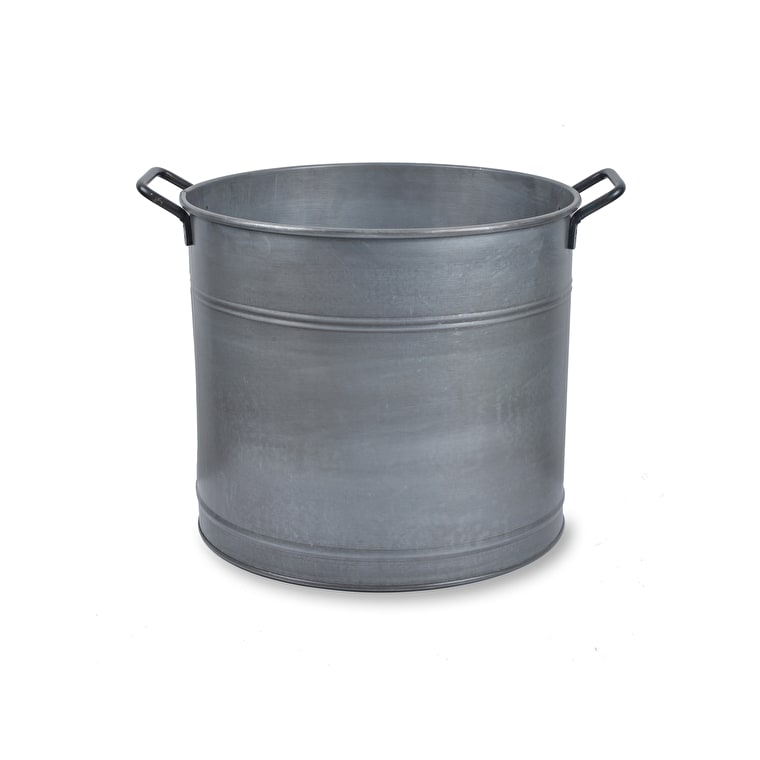 Galvanised Steel Bucket in Small or Large   Garden Trading