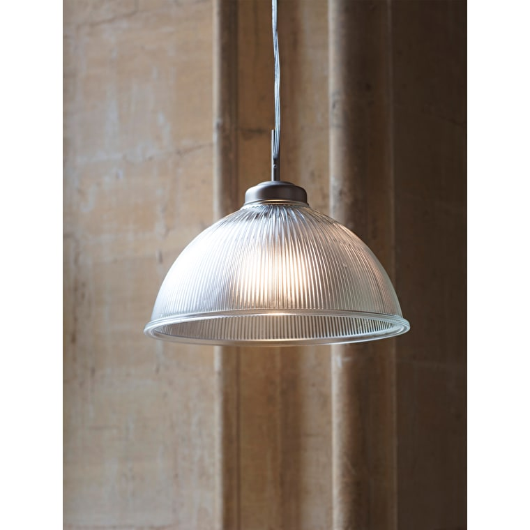 Indoor Grand Paris Pendant Light in Silver or Bronze | Garden Trading