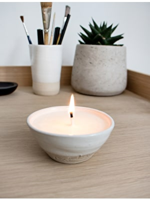 Artisan Candle Bowl