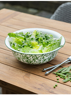 Keswick Mottled Salad Bowl