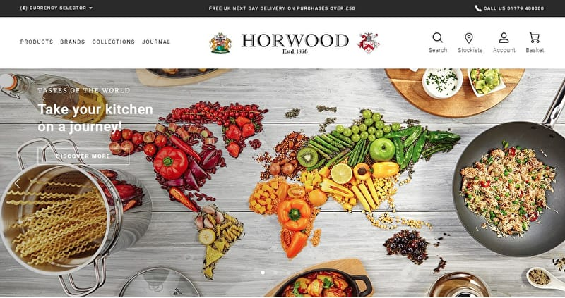 Our shiny, new website