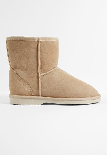 Ankle Sheepskin Boots
