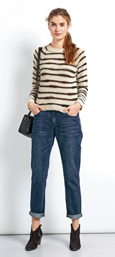 Irregular Stripe Jumper