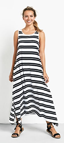 Striped Piper Dress