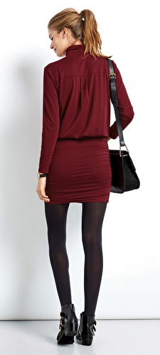 Polo Neck Tara Dress