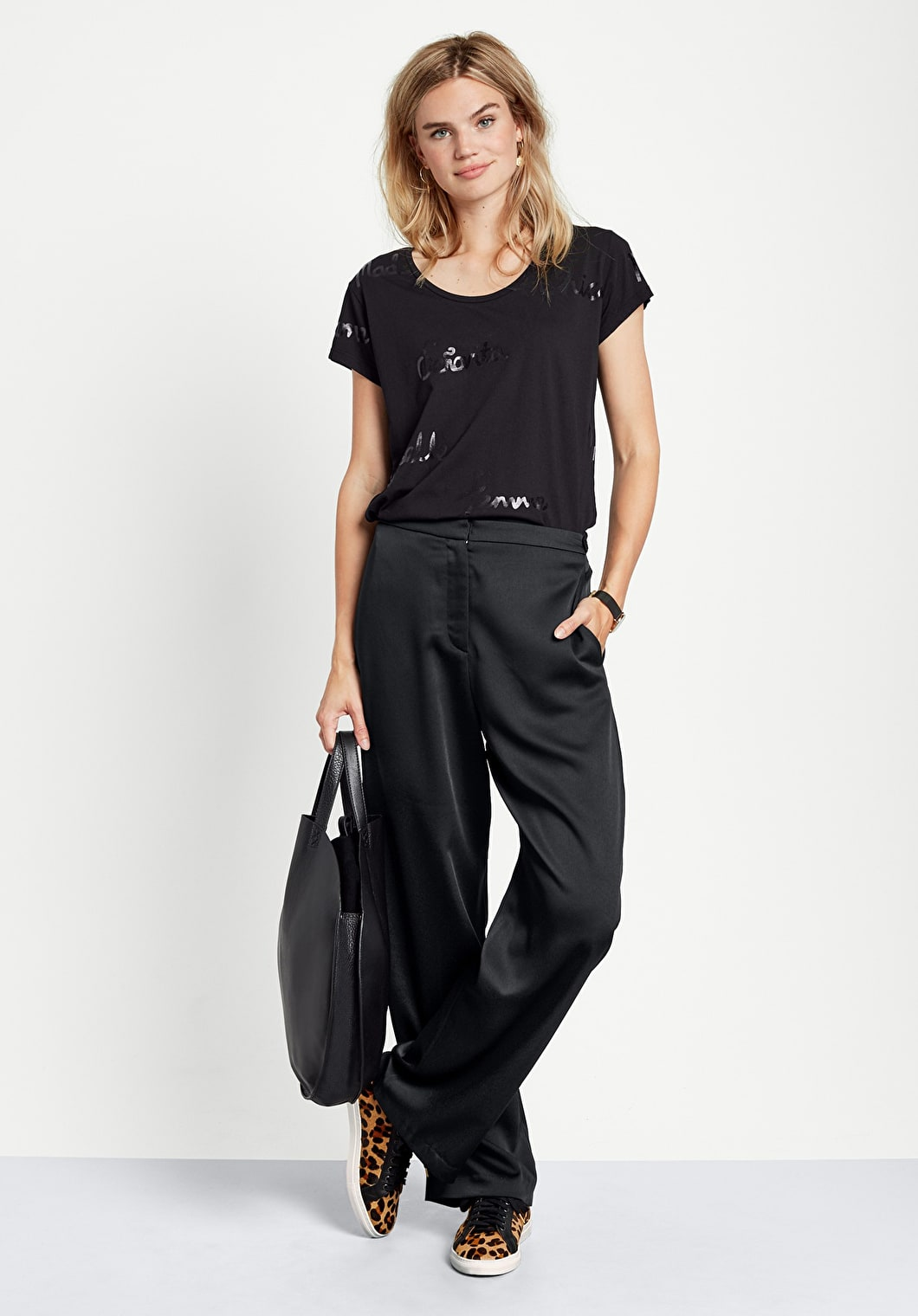Tailored Wide Leg Trousers | hush