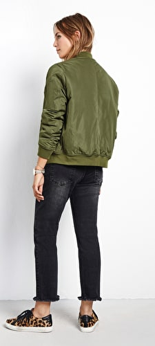 Eliot Padded Bomber Jacket