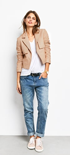 Austen Leather Jacket