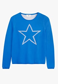 Reversible Pointelle Star Jumper
