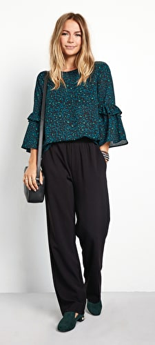 Antibes Bell Sleeve Blouse