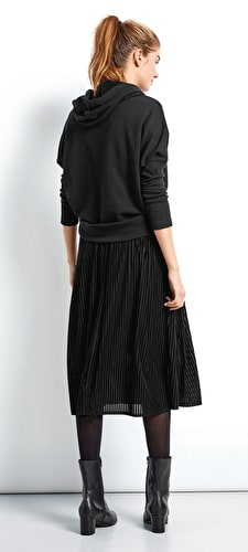 Velour Marina Skirt