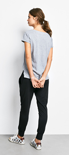 Cotton Slub V Tee