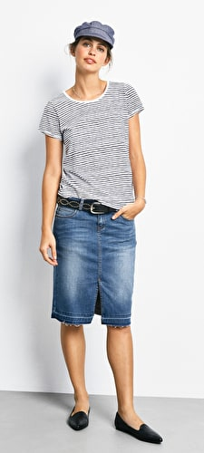 Chloe Striped Tee