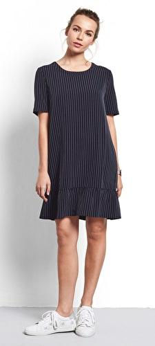 Neve Pinstripe Dress