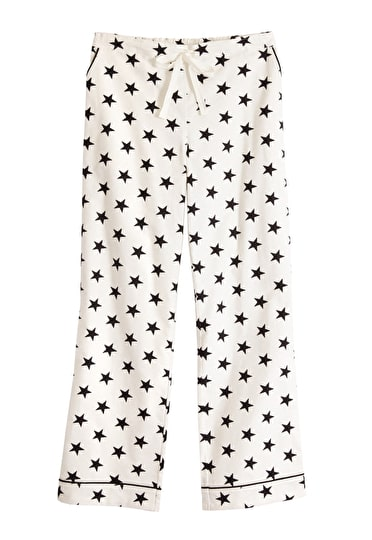 Star Piped Flannel PJ Trousers