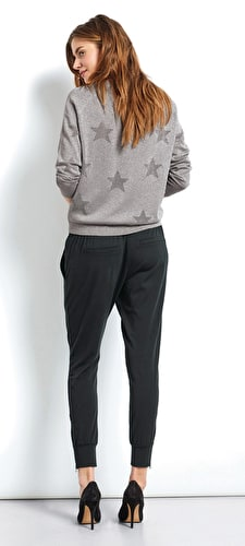 Lurex Star Jumper