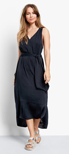 Twist Back Dress
