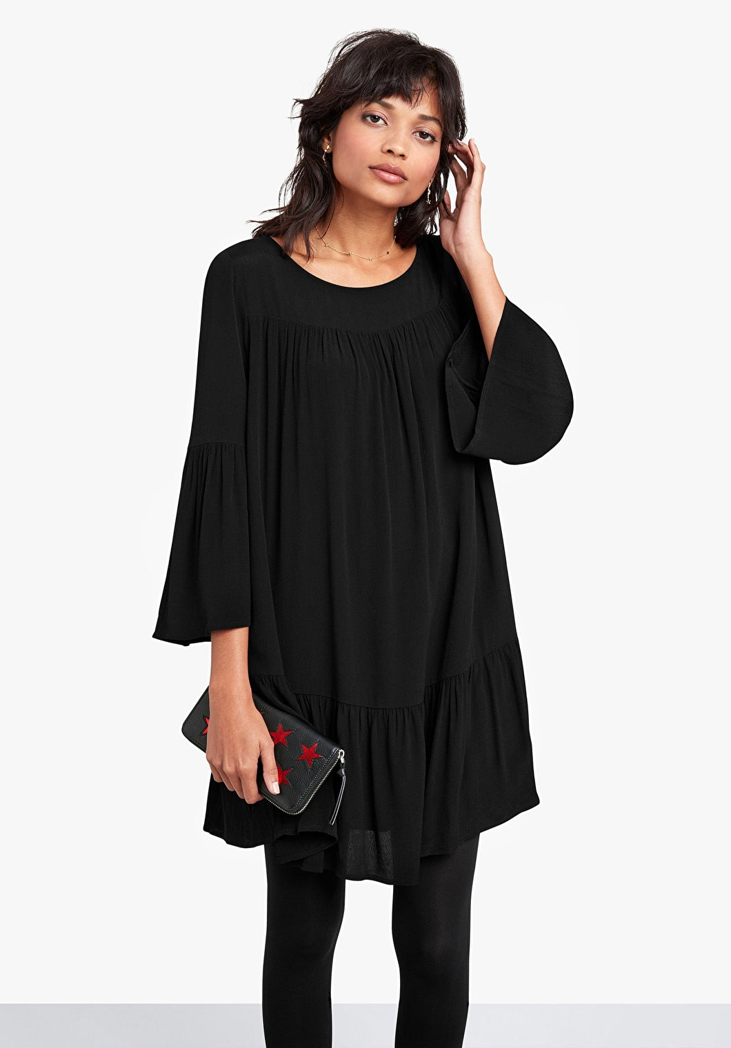 Harmony Bell Sleeve Dress | hush