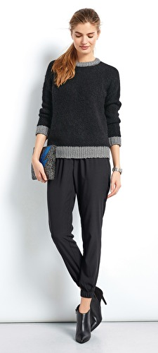 Lurex Metallic Knit