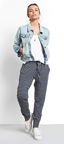 Striped Amie Joggers