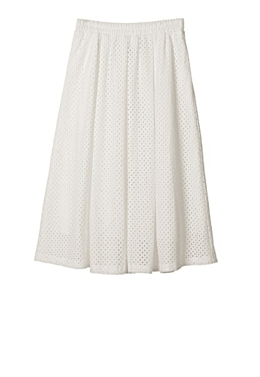 Davos Perforated Skirt