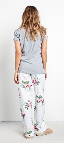 Vintage Rose PJ Trousers
