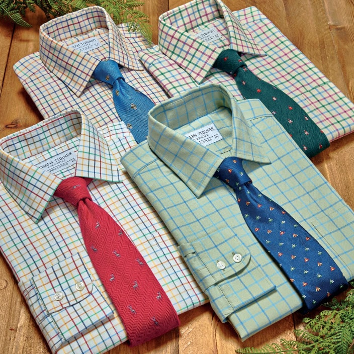 Tattersall Check Shirts