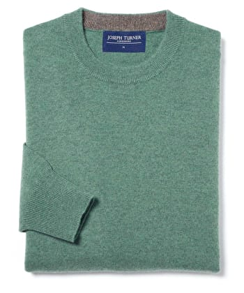 Cashmere Crew Neck - Green