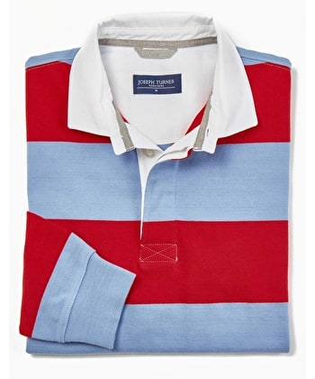 Rugby Shirt - Blue/Red