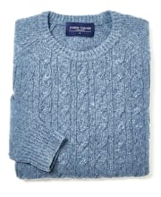 Donegal Cable - Crew Neck