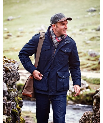 Malham Coat - Navy