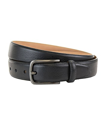 Classic Leather Belt - Black