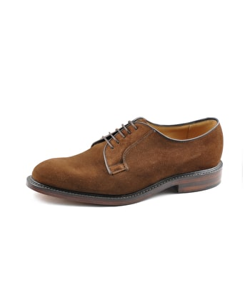 Perth Shoe - Brown Suede