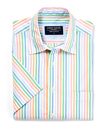 Weekend Shirt - Short Sleeve - Multistripe