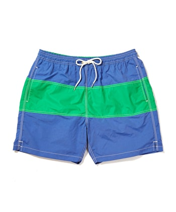 Swimming Trunks - Blue/Green