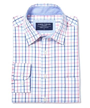 York Shirt - Pink/Blue
