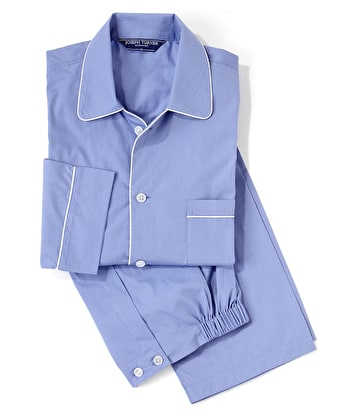 Pyjamas - Savoy Blue - Fine Cotton
