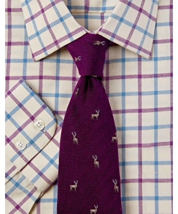 Blue/Lilac Country Check Shirt
