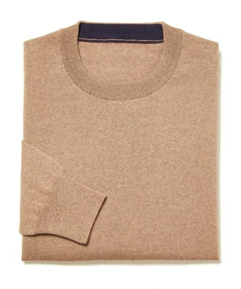 Merino Jumper - Crew Neck - Toast