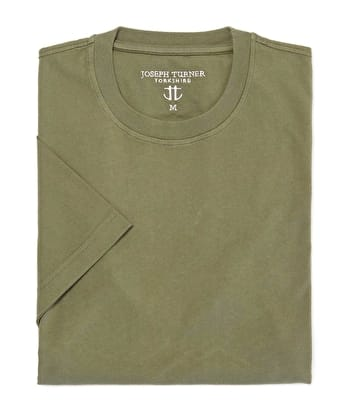 Cotton T-Shirt - Olive