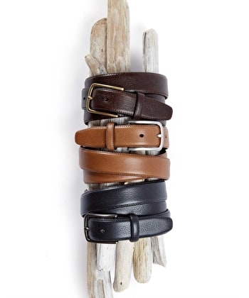 Classic Leather Belt - Brown
