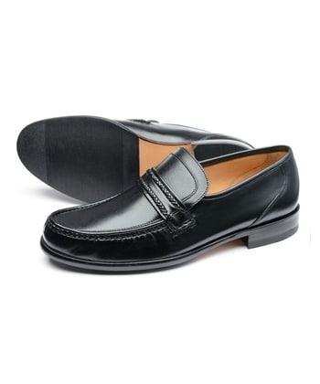 Rome Moccasin - Black