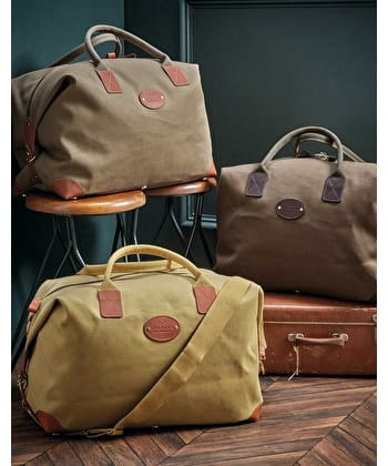 Travel Holdall - Light Olive